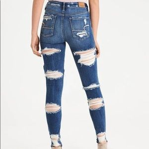 American Eagle 🦅 Shredded Jeans